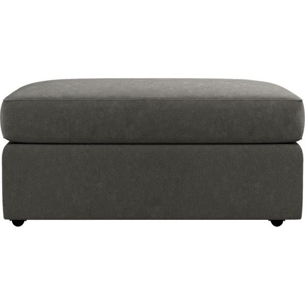 Allerton Double Wide Storage Ottoman with Casters