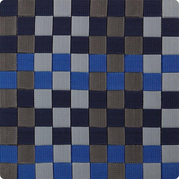 """Allta Blue 12"""" sq. Rug Swatch"""