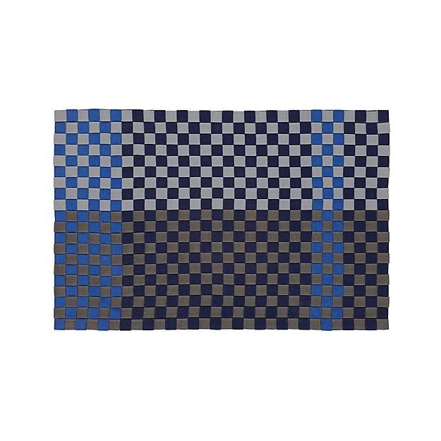 Allta Blue Indoor Outdoor 2 X3 Rug Reviews Crate And