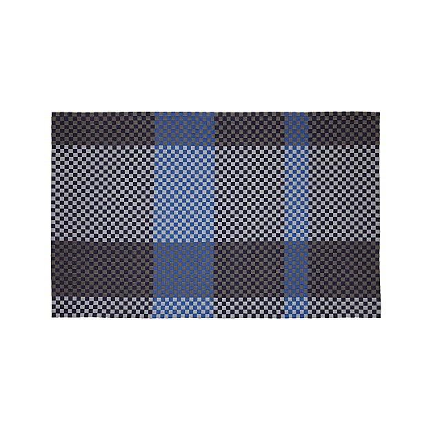Allta Blue Indoor/Outdoor 5'x8' Rug