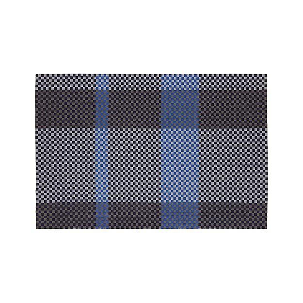 Allta Blue Indoor/Outdoor 6'x9' Rug