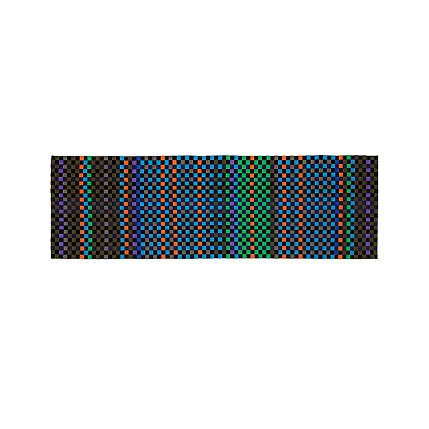 Allta multi indoor outdoor 2 5 39 x8 39 rug runner crate and for Cb2 indoor outdoor rug