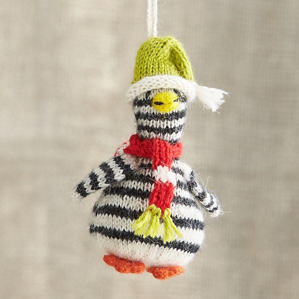Alpaca Jailbird Penguin Ornament