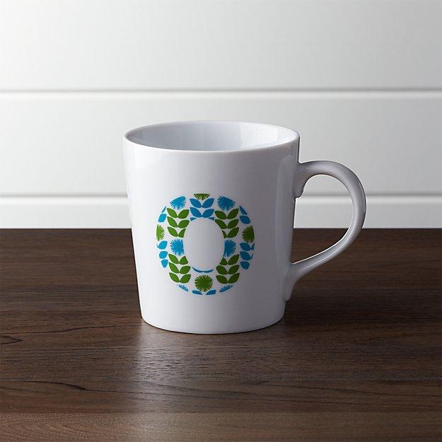 Alphabet O Mug