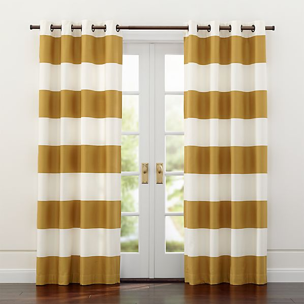 Alston Ivory/Gold Curtains
