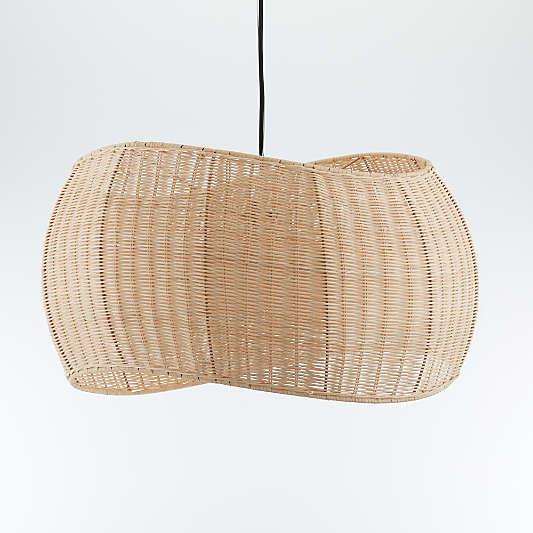 Althea Wicker Pendant Light
