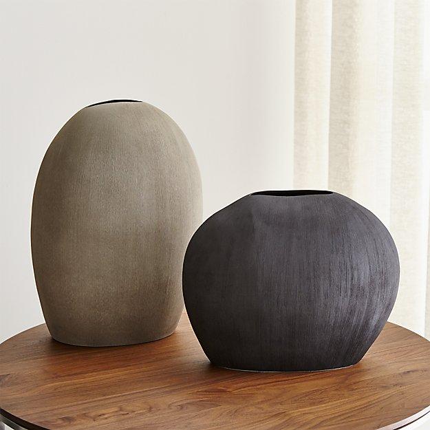 Alura Oval Ceramic Vases