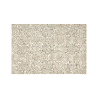 Alvarez Cream Wool-Blend 6'x9' Rug