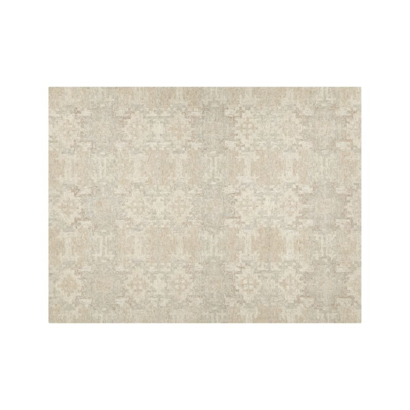 Alvarez Cream Hand Tufted Rug 9 X12 Reviews Crate And Barrel