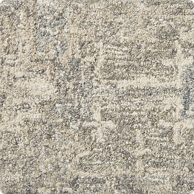 "Alvarez Grey 12""x18"" Rug Swatch"