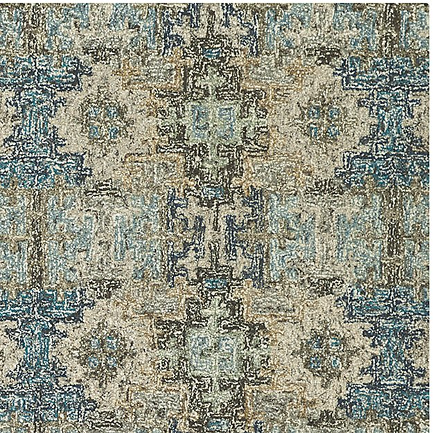 Alvarez Mineral Blue Wool Blend 12 Quot X18 Quot Rug Swatch In Area