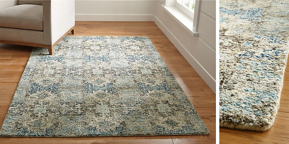 Alvarez Hand Tufted Rugs - Area Rugs. Small And Large Rugs Crate And Barrel
