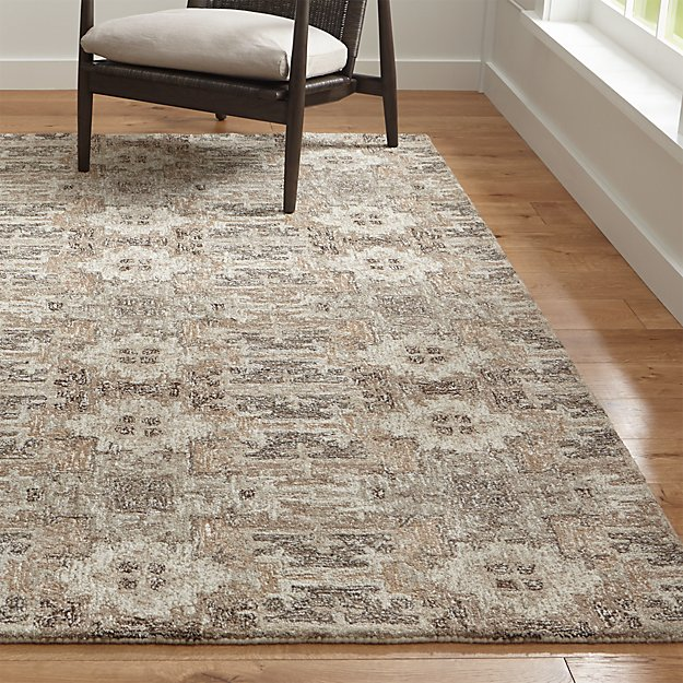 Alvarez Natural Wool Blend Rug Crate And Barrel