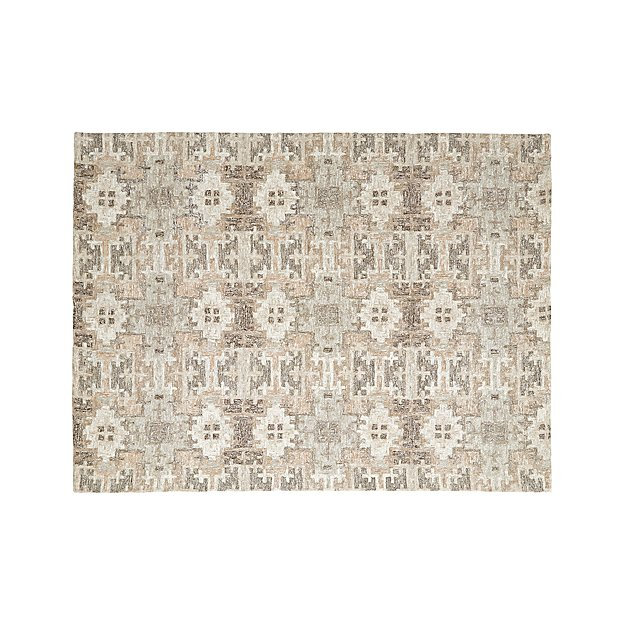 Alvarez Natural Wool-Blend 9'x12' Rug