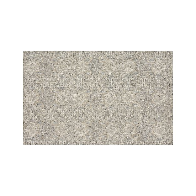 Alvarez Grey Hand Tufted Rug 5'x8'