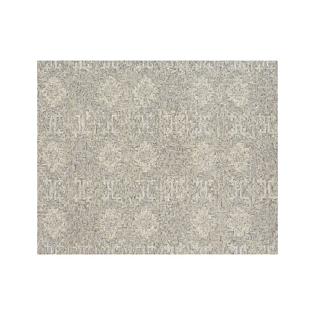 Alvarez 8x10 Grey Patterned Rug In Area Rugs Reviews