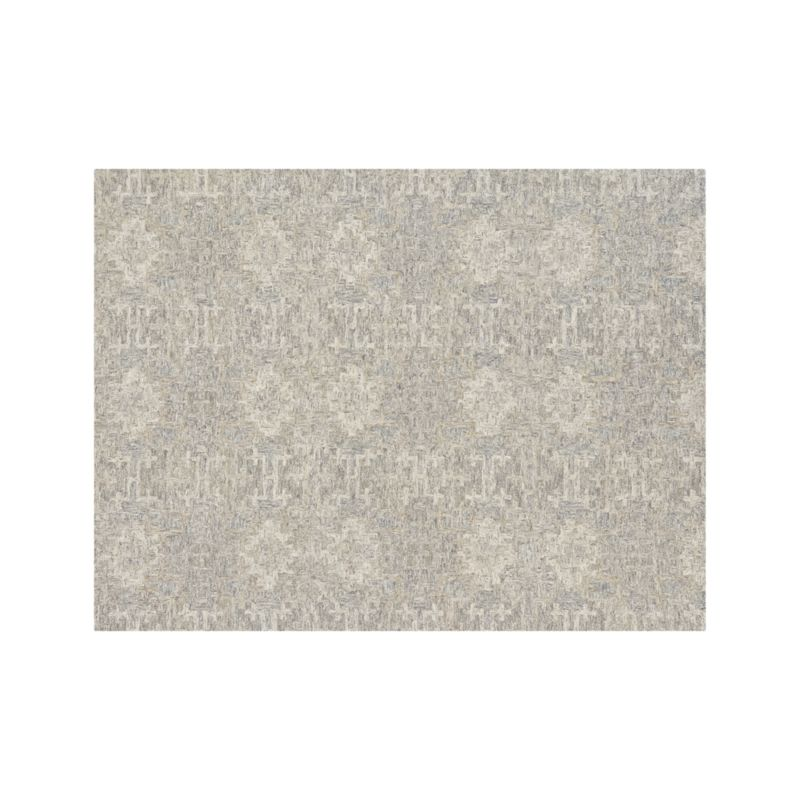 Alvarez 9x12 Grey Patterned Rug In Area Rugs Reviews