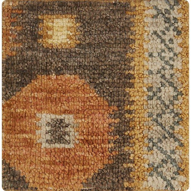"Alvy Autumn Wool-Blend 12"" sq. Rug Swatch"