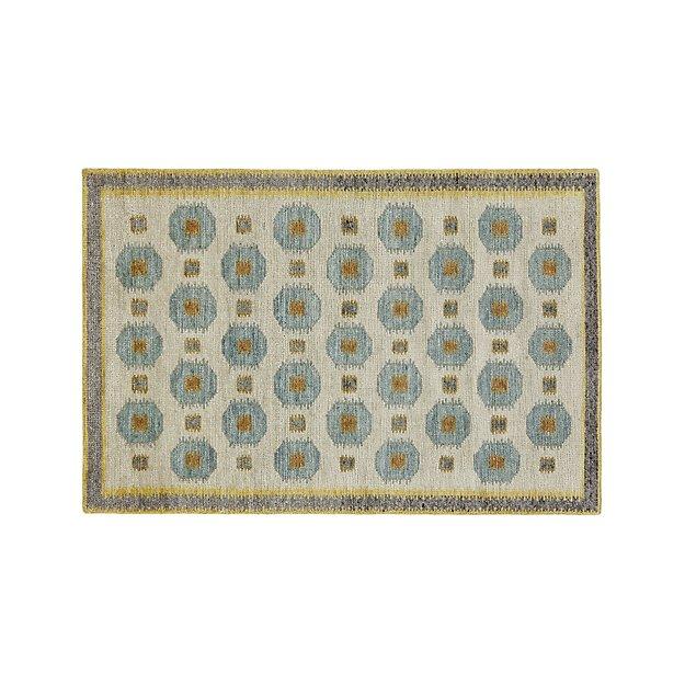 Alvy Spring Wool-Blend 4'x6' Rug