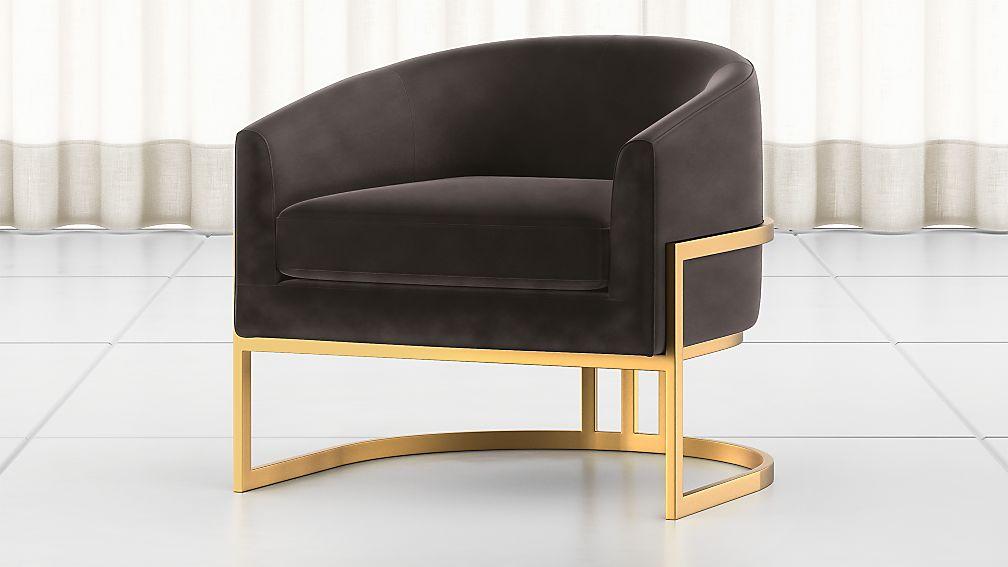 Ambrosia Smoke Tub Chair - Image 1 of 6
