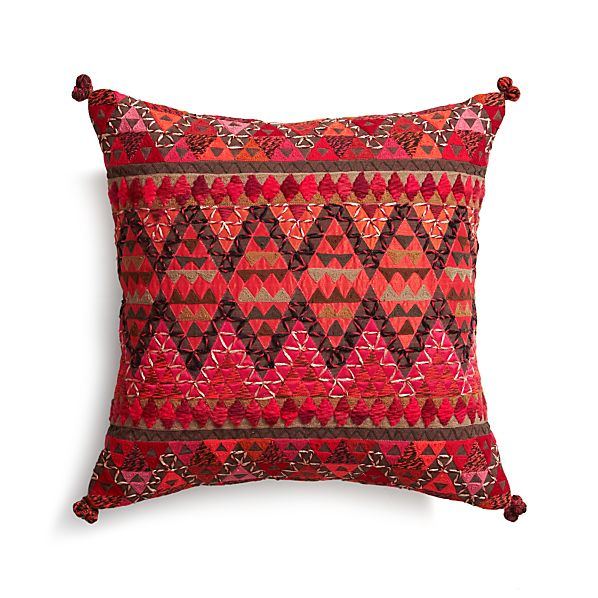 "Amira 16"" Pillow with Feather Insert"