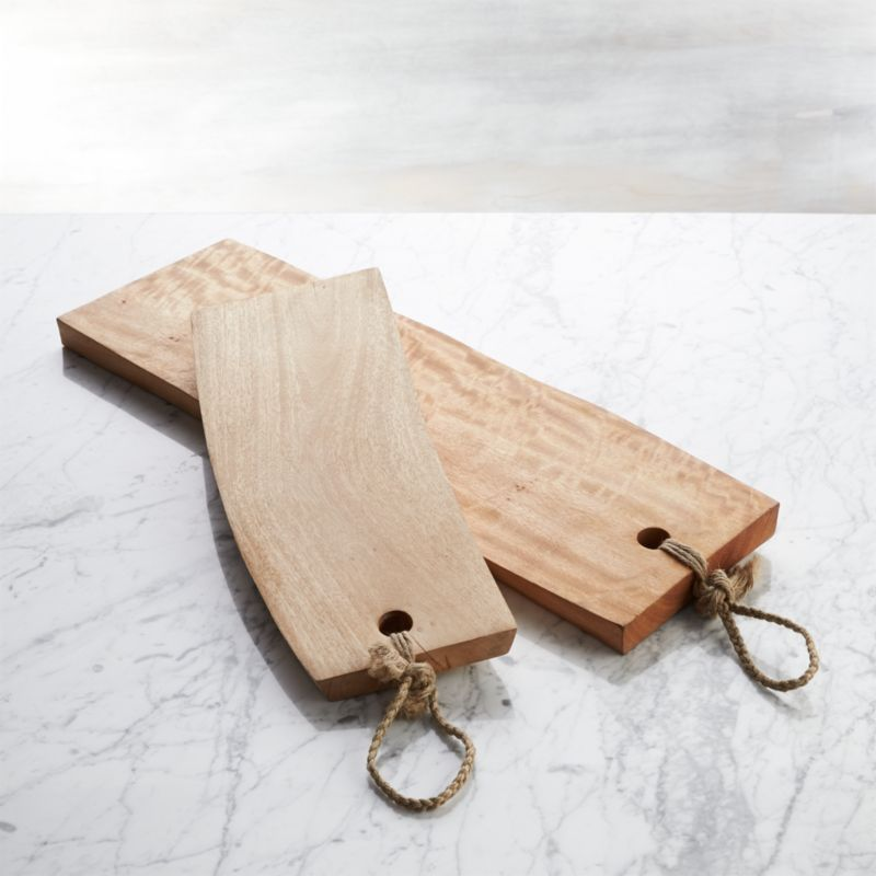 Wooden Serving Boards Crate And Barrel