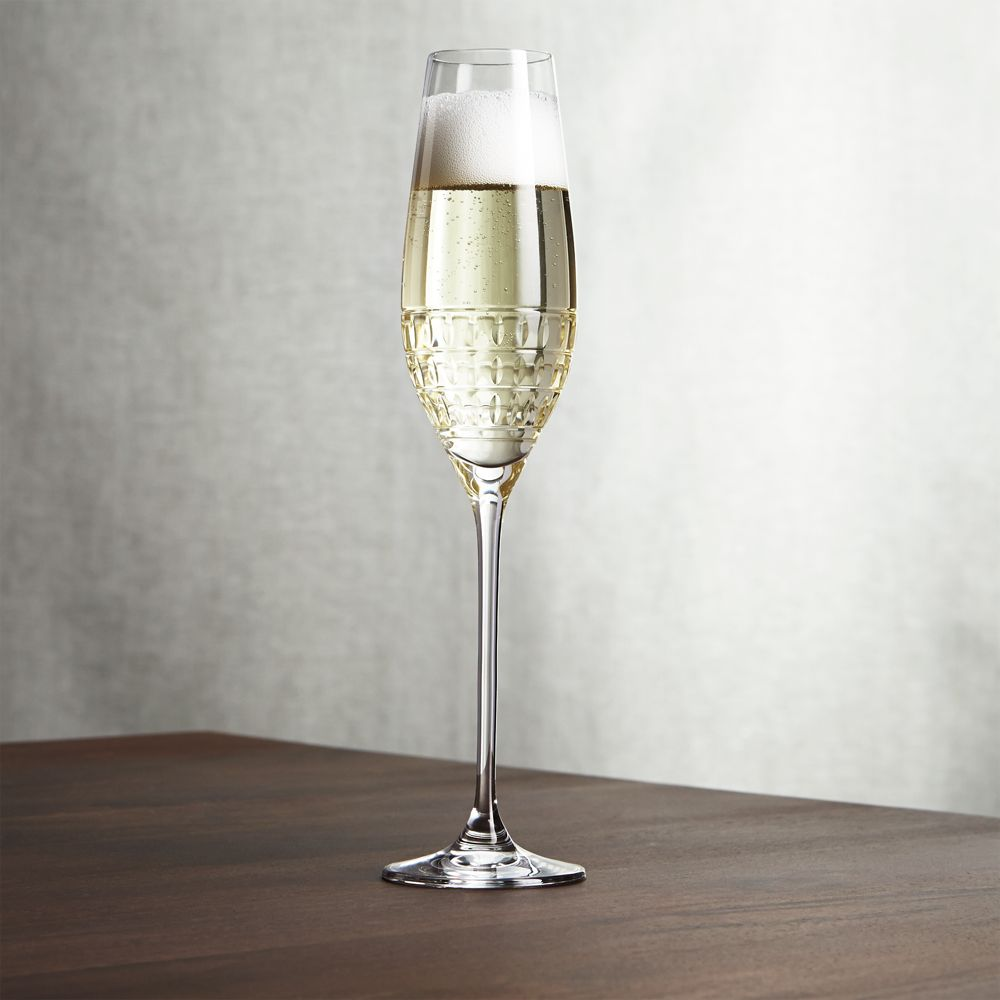 Ana Champagne Glass - Crate and Barrel