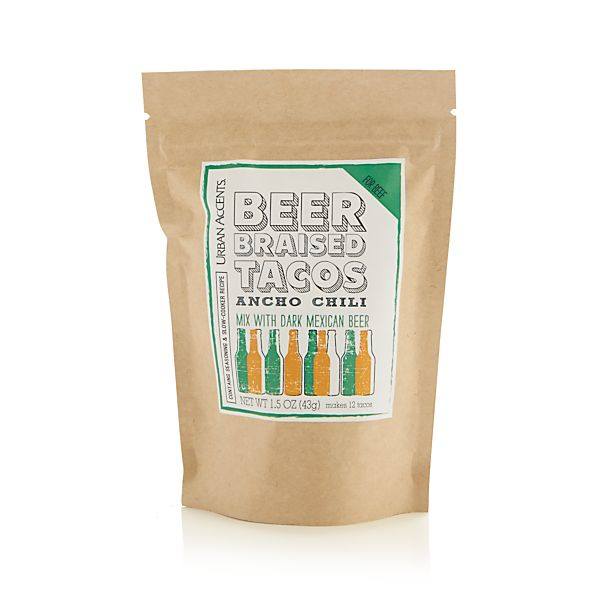 Ancho Chili Beer-Braised Taco Mix