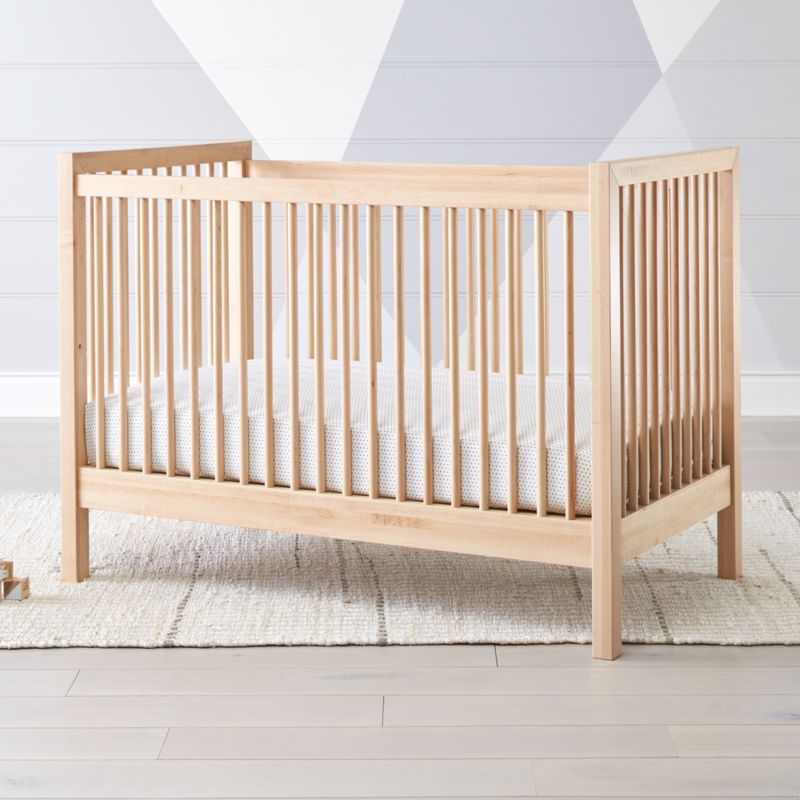 Andersen II Maple Crib + Reviews | Crate and Barrel