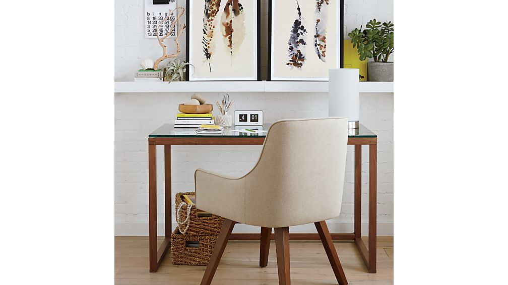 Harvey Chair Natural Crate And Barrel