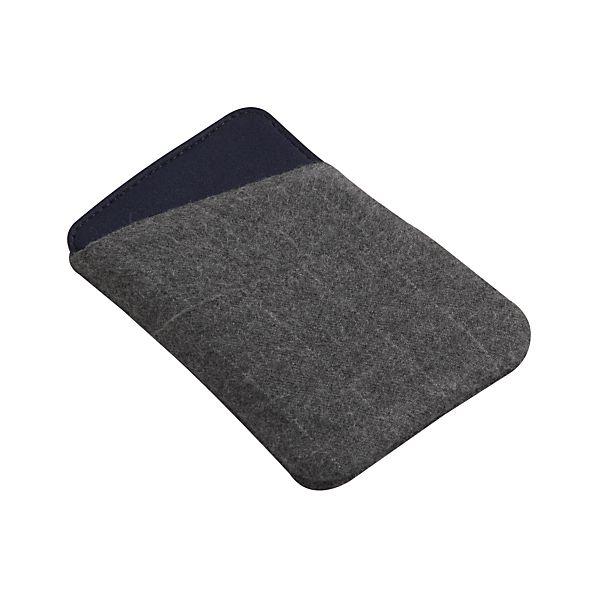 Charcoal Grey Angle Phone Sleeve