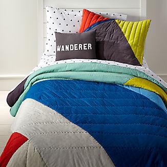 Color Block Bedding