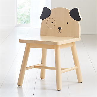 Dog Animal Kids Chair