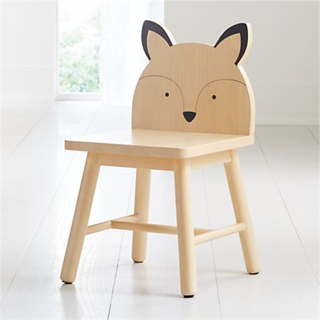 Pleasing Fox Animal Kids Chair Gmtry Best Dining Table And Chair Ideas Images Gmtryco