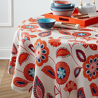 "Anju 60"" Round Tablecloth"