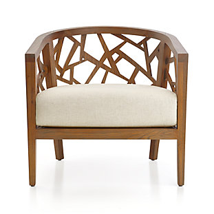 Willow Modern Slipcovered Ottoman With Casters Reviews