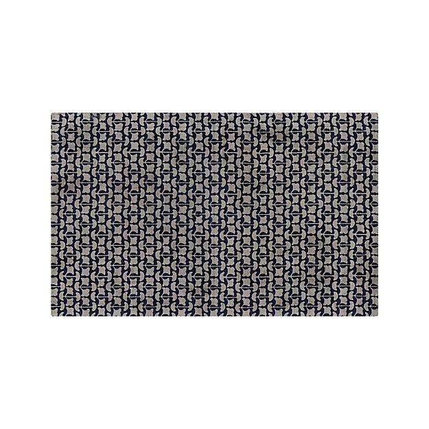 Annella Leaf Pattern Rug 5'x8' - Image 1 of 3