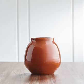 Ansley Small Pumpkin Vase