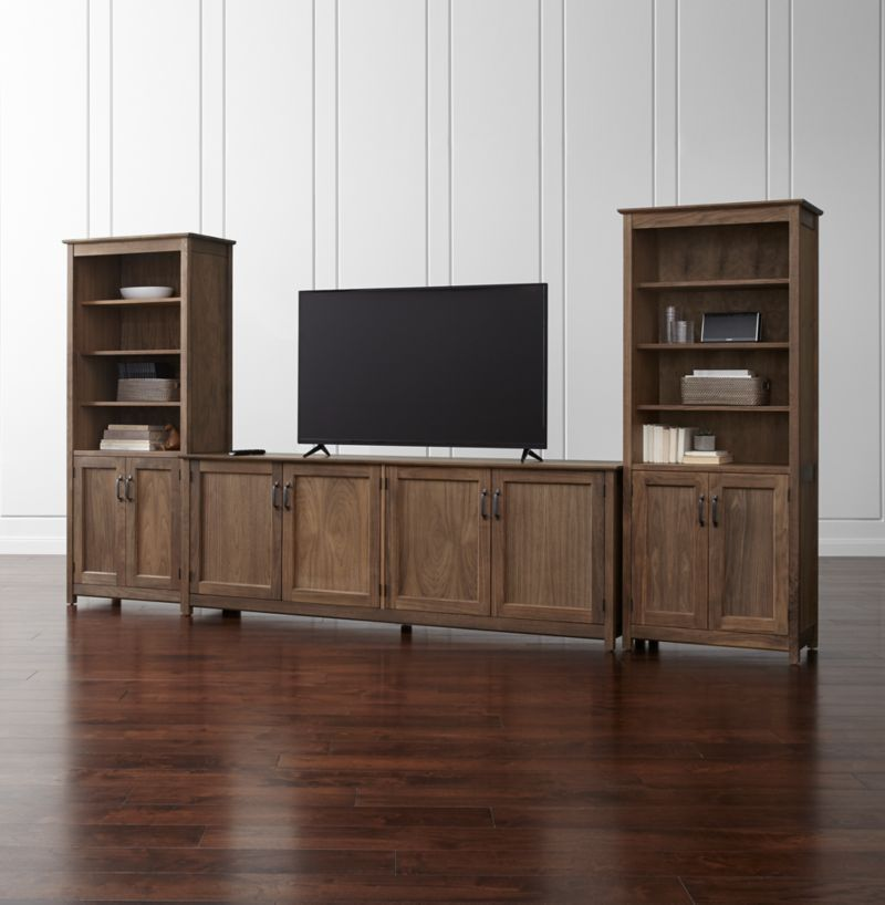 Living Room Entertainment Centers   Crate and Barrel