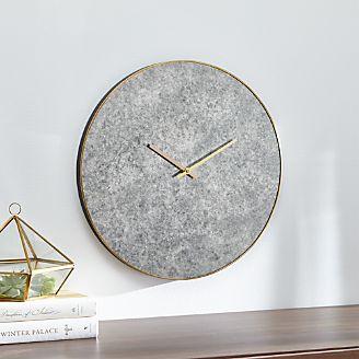 Wall Clocks Crate And Barrel