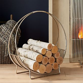 Fireplace Screens Tools And Accessories Crate And Barrel