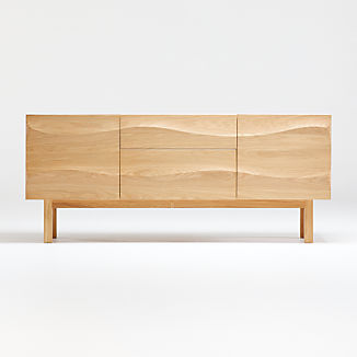 Apex White Oak Sideboard