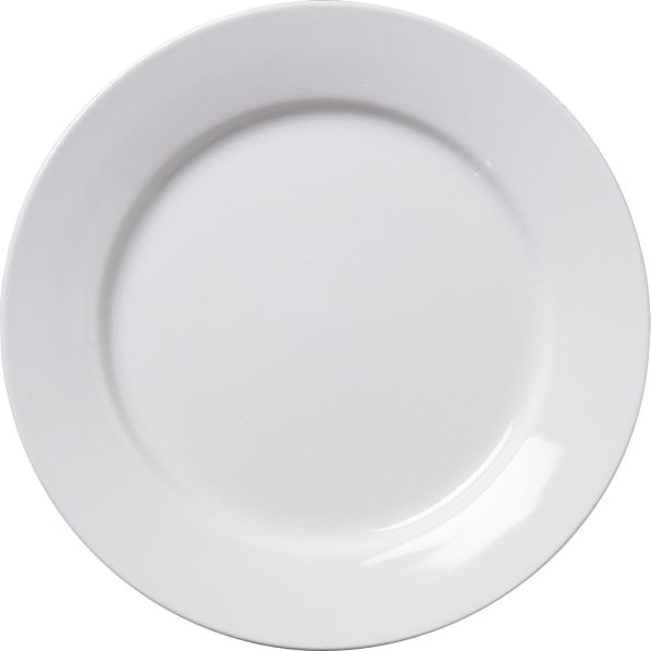 "Round Rim 6"" Appetizer Plate"
