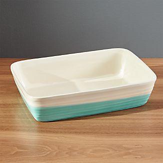 Aqua Dip Baking Dish