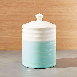 Aqua Dip Medium Kitchen Canister