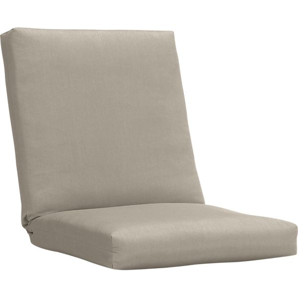 Arbor Sunbrella ® Stone Lounge Chair Cushion