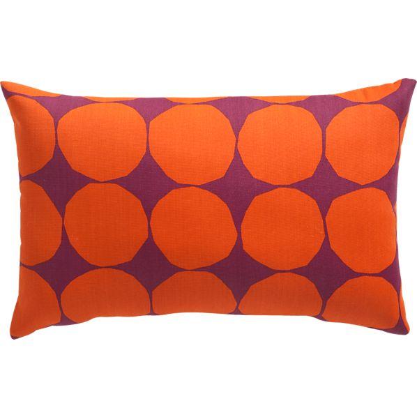 """Marimekko Pienet Kivet Caliente 20""""x13"""" Outdoor Pillow"""