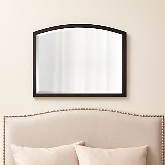 Arch Grey-Brown Wall Mirror