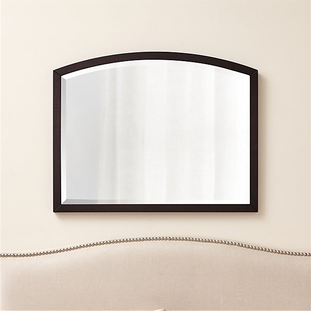 Arch Grey-Brown Wall Mirror - Image 1 of 3