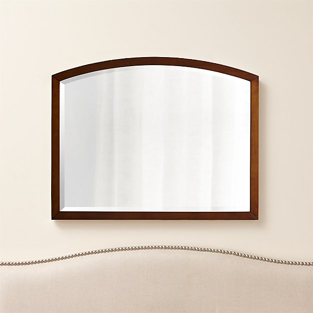 Arch tea wall mirror reviews crate and barrel for Crate and barrel arch